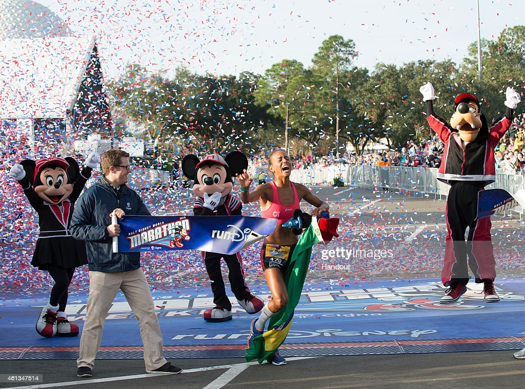 2015 Walt Disney World Marathon : News Photo