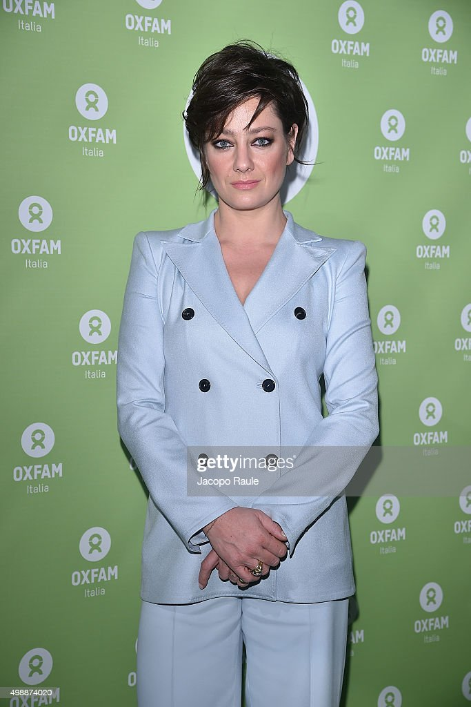 Giovanna Mezzogiorno attends a photocall for Women's Circle 2015 - OXFAM Charity Benefit on November 26, 2015 in Milan, Italy.