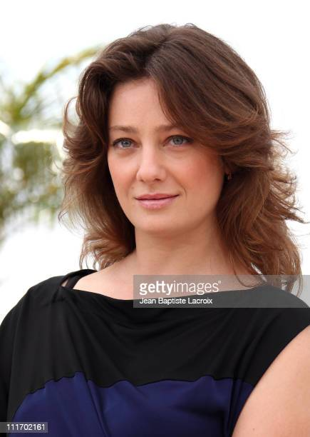 Giovanna Mezzogiorno attends the Jury Photocall at the Palais des Festivals during the 63rd Annual Cannes International Film Festival on May 12, 2010...