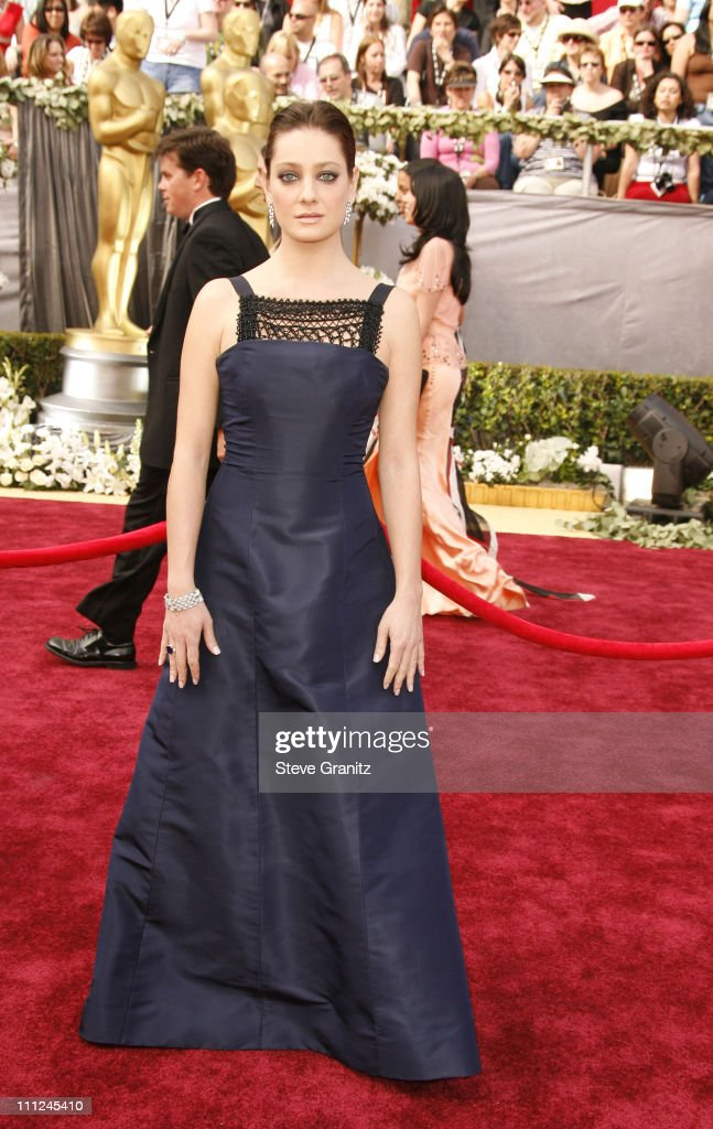 Giovanna Mezzogiorno during The 78th Annual Academy Awards - Arrivals at Kodak Theatre in Hollywood, California, United States.