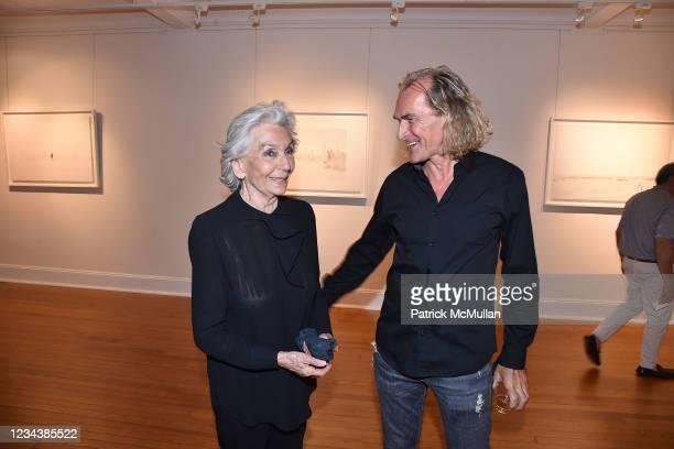 "Giovannella San Giuliano and Gabriele Vigorelli attend the release of Christophe von Hohenberg's new book ""The White Album of The Hamptons"" and Bruce..."