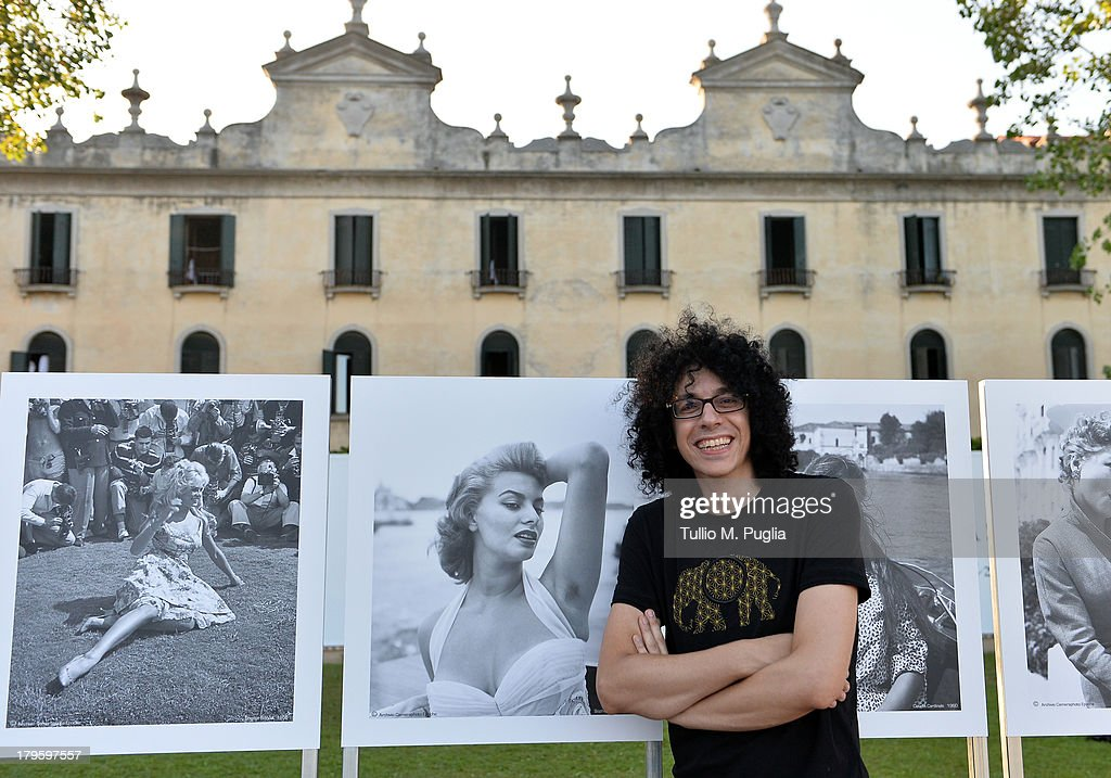Giovanni Allevi attends the 'Venti di 300.000' photo exhibition during the 70th Venice International Film Festival at Terrazza Maserati on September 5, 2013 in Venice, Italy.