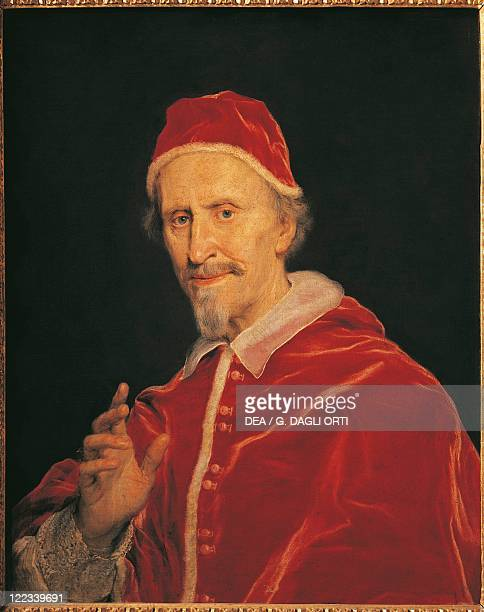 Giovanni Battista Gaulli Portrait of Pope Clement X Pope