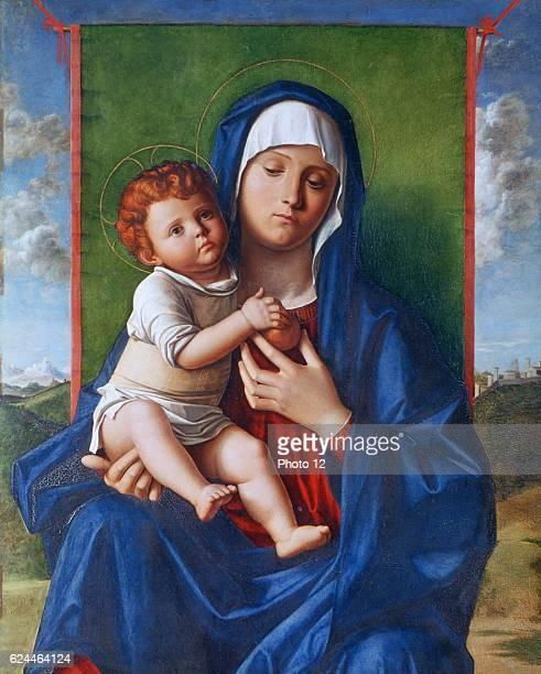 Giovanni Bellini Italian school Virgin and Child Oil and tempera on wood