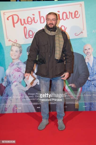 Giovanni Bognetti attends a photocall for 'Puoi Baciare Lo Sposo' on February 28 2018 in Milan Italy