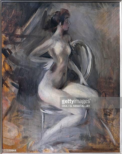 Giovanni Boldini Dynamic Nude 1910