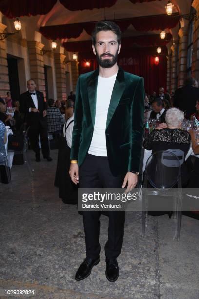 Giovanni Caccamo attends Celebrity Fight Night at Arena di Verona on September 8 2018 in Verona Italy