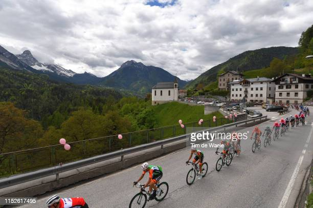 Giovanni Carboni of Italy and Team Bardiani CSF / Valle di Cadore / Mountains / Landscape / Peloton / Snow / during the 102nd Giro d'Italia 2019...