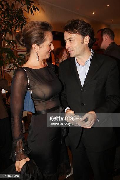 Giovanni Di Lorenzo and Sabrina Staubitz In The 'Media Night' On The Siillberg In Hamburg On 290808