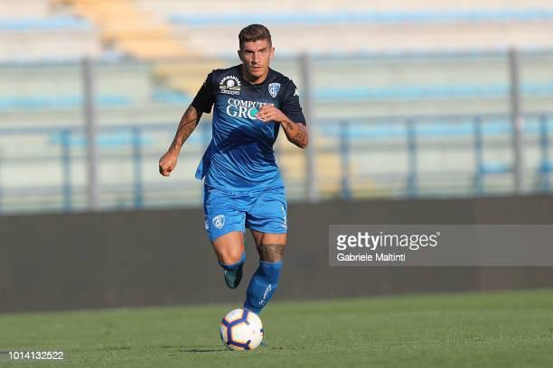 Giovanni Di Lorenzo of Empoli Fc in action during preseason Friendly match between Empoli FC ans Empoli U19 on August 9 2018 in Empoli Italy