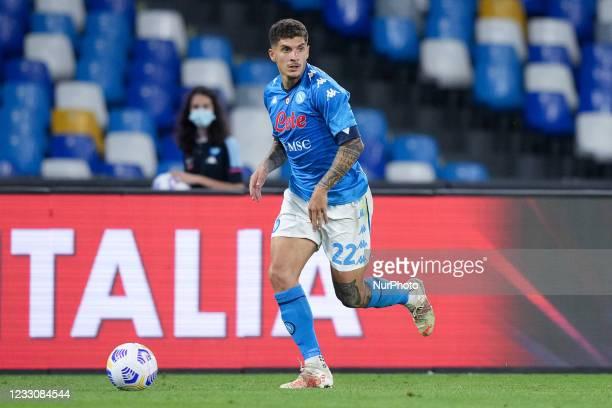 Giovanni Di Lorenzo of SSC Napoli during the Serie A match between SSC Napoli and Hellas Verona at Stadio Diego Armando Maradona, Naples, Italy on 23...