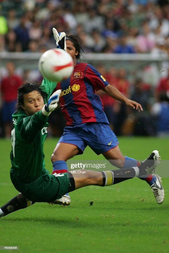 Mission hill invitation xi v barcelona photos and images getty giovanni dos santos of barcelona in action during the friendly match between a mission hill invitation stopboris Image collections