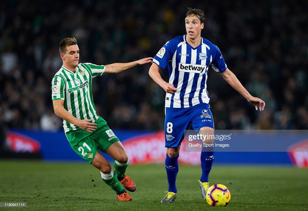 ESP: Real Betis Balompie v Deportivo Alaves - La Liga