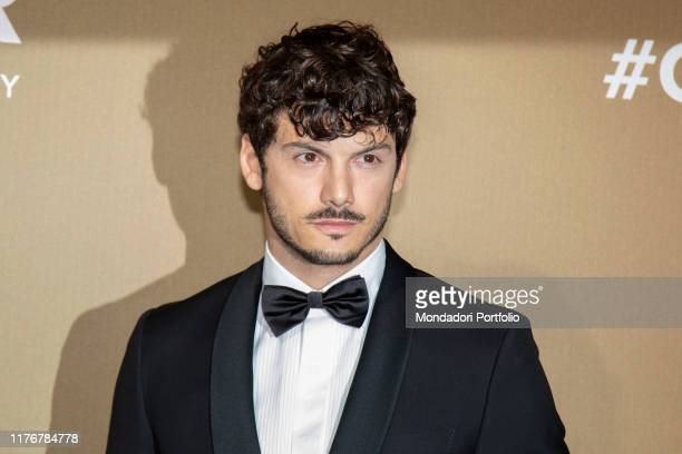 Giovanni Masiero guest at the Red Carpet of the Amfar Gala on the Milan Stock Exchange Milan September 21th 2019