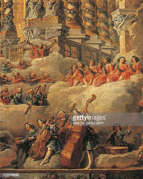 Giovanni Paolo Pannini Concert in Rome on the Occasion of the Birth of Louis Dauphin of France Son of Louis XV