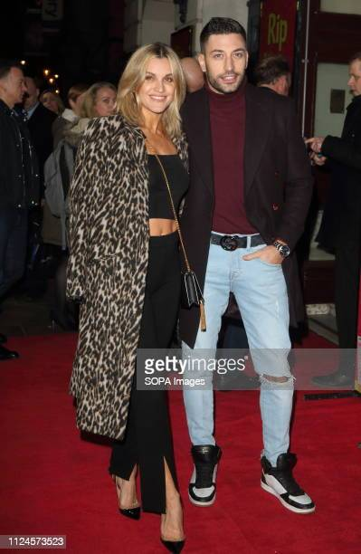 Giovanni Pernice and Ashley Roberts at the Rip It Up Press Night at the Garrick Theatre Charing Cross Road