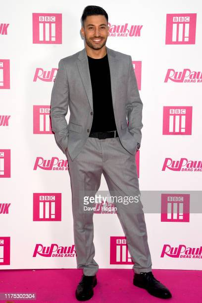 Giovanni Pernice attends Ru Paul's Drag Race UK at on September 17 2019 in London England
