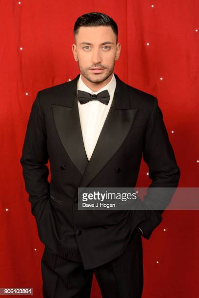 Giovanni Pernice attends the 'Strictly Come Dancing' Live photocall at Arena Birmingham on January 18 2018 in Birmingham England Ahead of the opening...