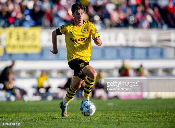 Giovanni Reyna of Borussia Dortmund during a friendly match on the fourth day of the training camp on January 07 2020 in Malaga Spain