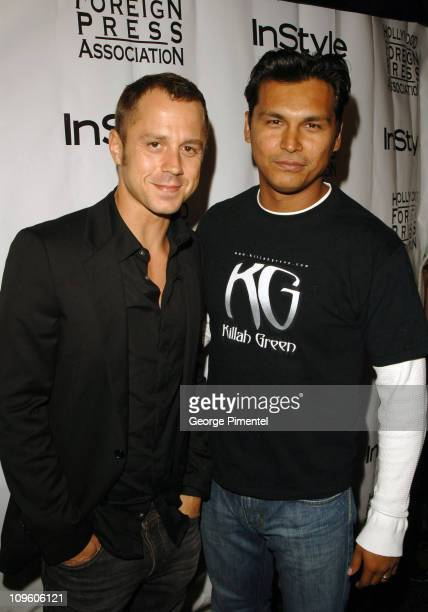 Giovanni Ribisi and Adam Beach during 31st Annual Toronto International Film Festival InStyle and the Hollywood Foreign Press Association Party...