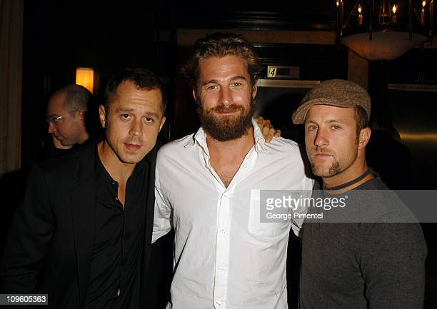 Giovanni Ribisi Scott Speedman and Scott Caan during 31st Annual Toronto International Film Festival InStyle and the Hollywood Foreign Press...