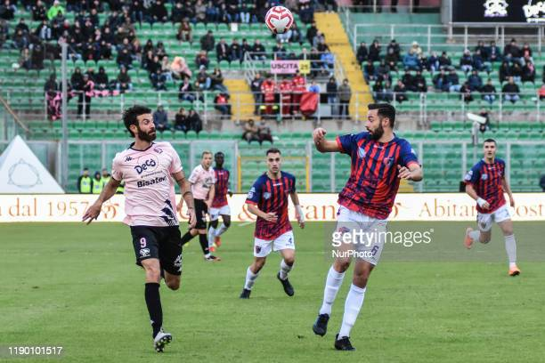 Giovanni Ricciardo during the serie D match between SSD Palermo and ASD Troina at Stadio Renzo Barbera on December 22, 2019 in Palermo, Italy.