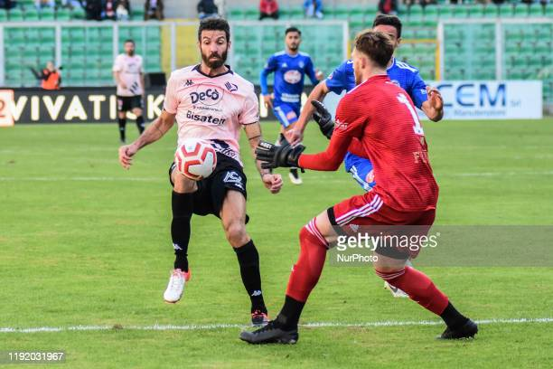 Giovanni Ricciardo during the serie D match between SSD Palermo and Marsala at Stadio Renzo Barbera on January 05 2020 in Palermo Italy