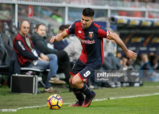 Giovanni Simeone during Serie A match between Genoa v Juventus in Genova on November 27 2016