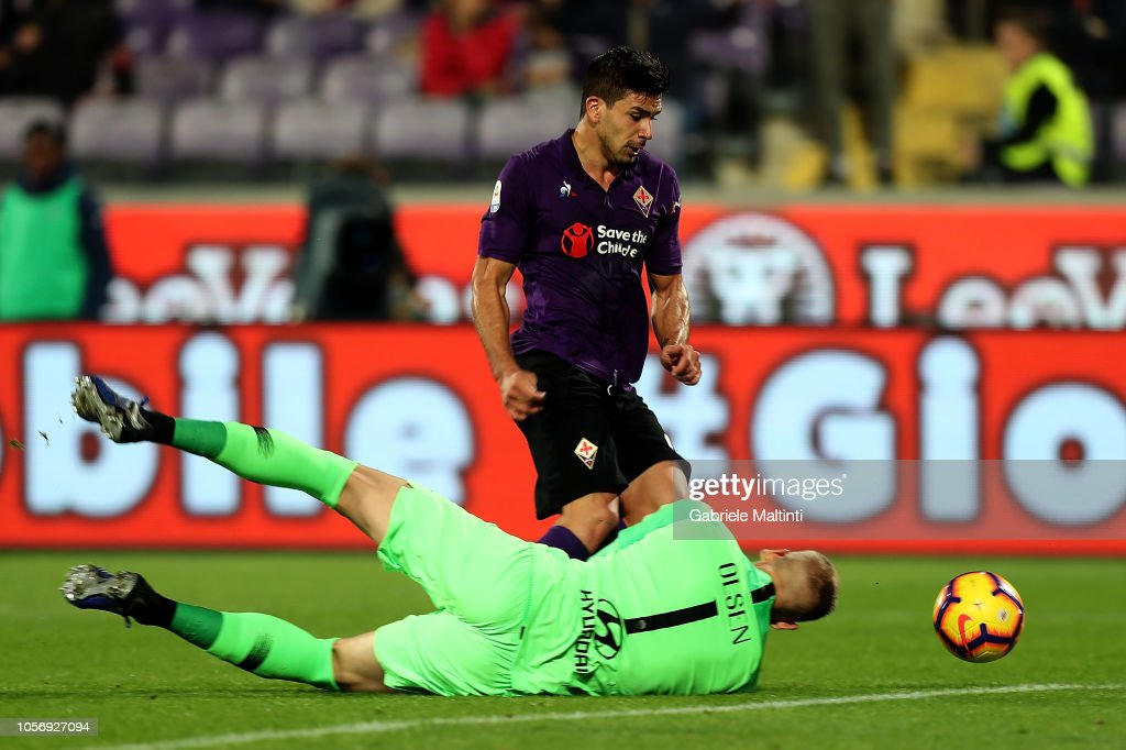 ACF Fiorentina v AS Roma - Serie A : News Photo