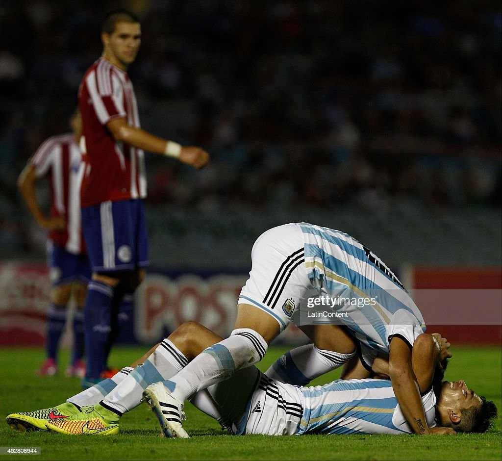 Argentina v Paraguay - U20 South American Championship 2015 : News Photo