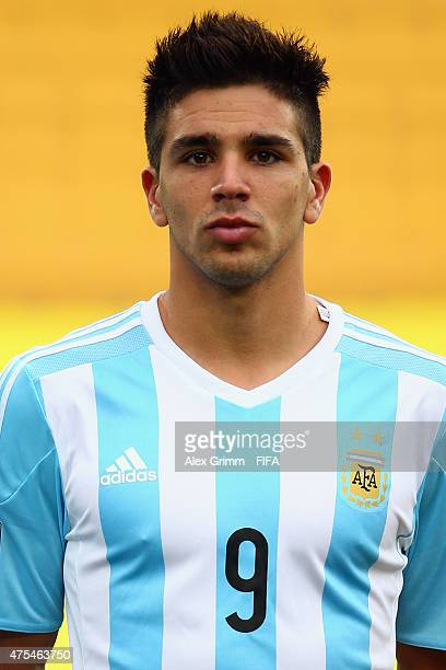 Giovanni Simeone of Argentina is seen prior to the FIFA U20 World Cup New Zealand 2015 Group B match between Argentina and Panama at Wellington...
