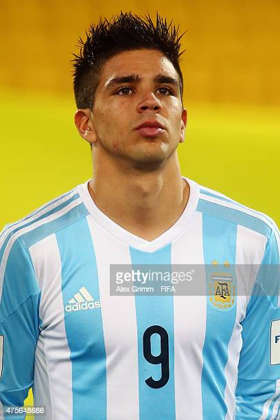 Giovanni Simeone of Argentina is seen prior to the FIFA U20 World Cup New Zealand 2015 Group B match between Argentina and Ghana at Wellington...