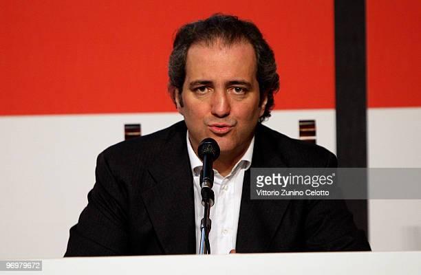 Giovanni Terzi attends the Milan Loves Fahion Press Conference held at Palazzo Marino on February 23 2010 in Milan Italy
