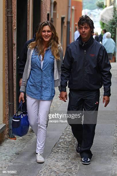 Giovanni Tronchetti Provera and Carolina Aldrovandi are seen on May 1, 2010 in Portofino, Italy.
