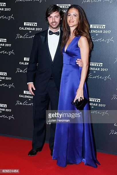 """Giovanni Tronchetti Provera and Giada Tronchetti Provera attend """"Pirelli Calendar 2017 by Peter Lindberg"""" : Photocall at La Cite Du Cinema on..."""