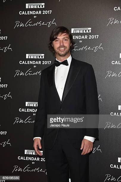 Giovanni Tronchetti Provera attends Pirelli Calendar 2017 by Peter Lindberg photocall at La Cite Du Cinema on November 29, 2016 in Saint-Denis,...
