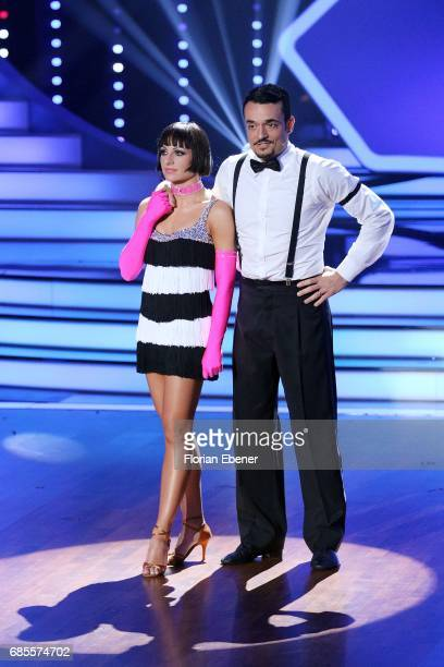 Giovanni Zarrella and Christina Luft during the 9th show of the tenth season of the television competition 'Let's Dance' on May 19 2017 in Cologne...