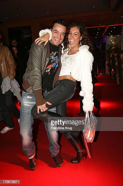 Giovanni Zarrella and his wife Jana Ina At Aftershow Party to European premiere of King Kong in Berlin