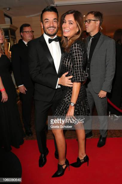 Giovanni Zarrella and his wife Jana Ina Zarrella during the McDonald's Benefiz Gala benefit to McDonald's Kinderhilfe Stiftung at hotel Bayerischer...