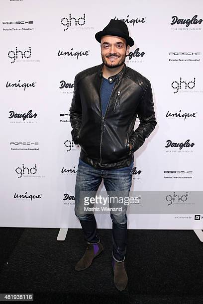 Giovanni Zarrella arrives for the Unique show during Platform Fashion July 2015 at Areal Boehler on July 25 2015 in Duesseldorf Germany