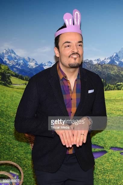 Giovanni Zarrella during the Milka Osterbrunch at Studio Lassen on March 22, 2018 in Hamburg, Germany.