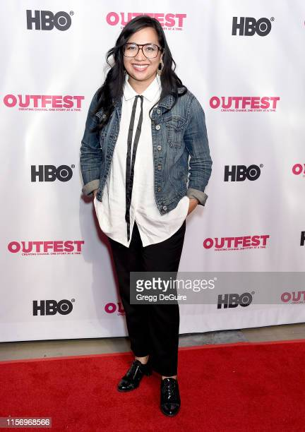 Giovannie Espiritu attends the 2019 Outfest Los Angeles LGBTQ Film Festival Screening Of Sell By at TCL Chinese Theatre on July 20 2019 in Hollywood...