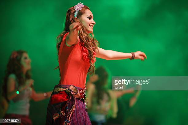 gipsy - belly dancing stock photos and pictures