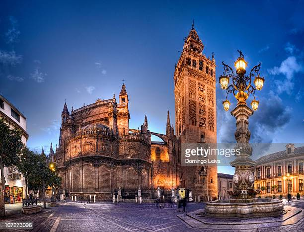 Giralda and Cathedral of Sevilla / spain
