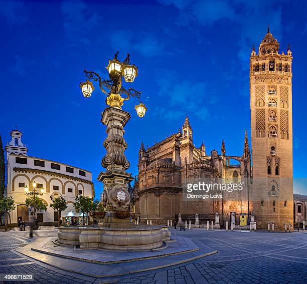 Giralda tower in Seville, Andalusia, Spain