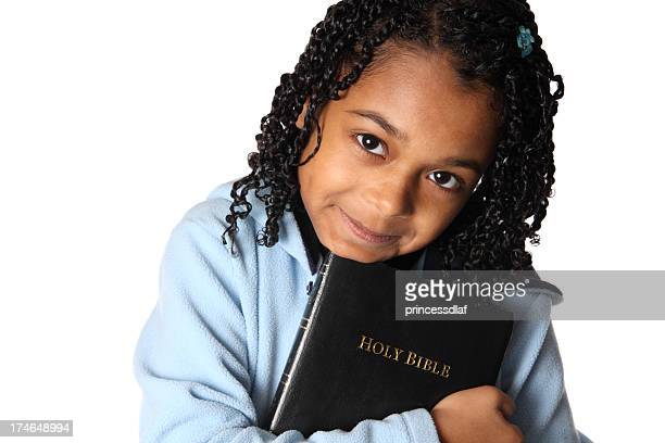 Girl and her Bible