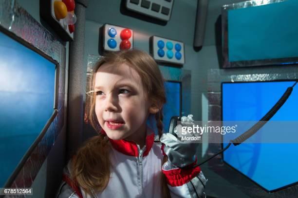 Girl Astronaut Commander