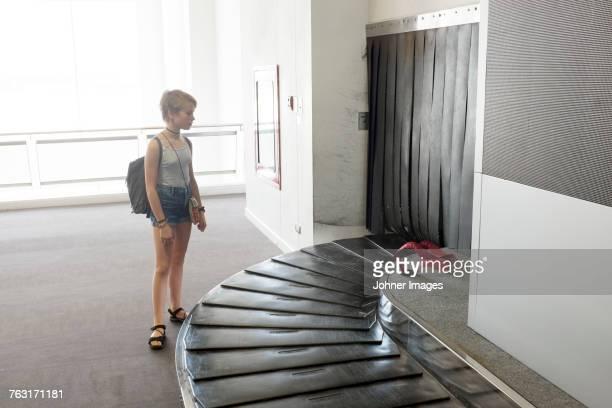 Girl at airport