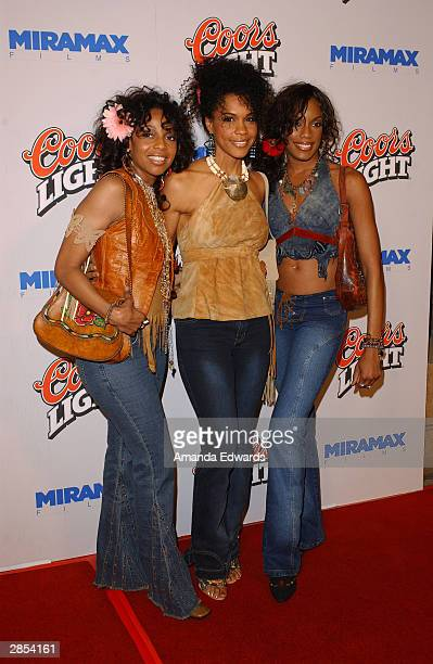 Girl band En Vogue arrive at the Los Angeles premiere of My Baby's Daddy on January 8 2004 at the Egyptian Theatre in Hollywood California