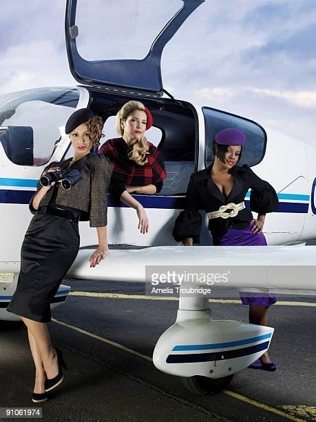 Girl band the Sugababes pose for a portrait shoot in London on November 8 2007